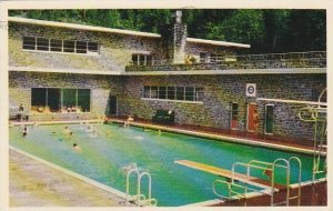 Canada Britsh Columbia Radium Hot Springs Pool 1954