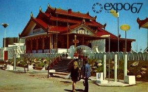 Canada - Montreal. Expo67. Burma Pavilion