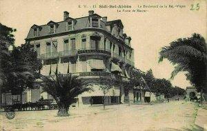 Algeria Sidi Bel Abbes Le Boulevard de la Republique La Prote Postcard