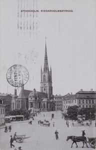 Riddarholmskyrkan, STOCKHOLM, Sweden, PU-1908