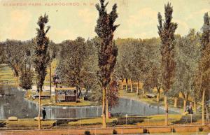 ALAMOGORDO NM~ALAMEDA PARK-WARREN PANORAMIC VIEW PUBLISHED POSTCARD