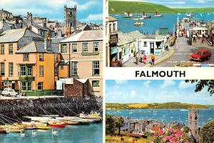 Falmouth Marine Hotel Boats Different Aspects Multiviews