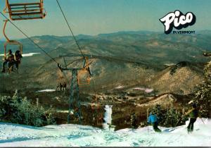 Vermont Rutland Pico Ski Area Ski Lift