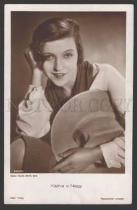 108236 Kathe NAGY Hungarian Writer & MOVIE ACTRESS old PHOTO
