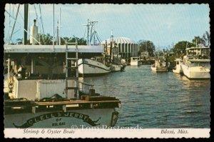 Shrimp and Oyster Boats - Biloxi