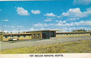 FORT MACLEOD , Alberta , Canada , 50-60s ; Hospital