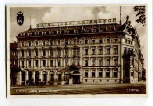 401521 GERMANY LEIPZIG Hotel Der Kaiserhof Vintage postcard