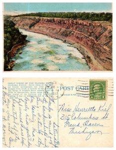 The Great Gorge of the Niagara River, Niagara, Falls