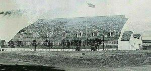 Vintage RPPC Postcard Old Field House