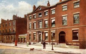 UK - England, Liverpool. Rodney St., Gladstone's Birthplace