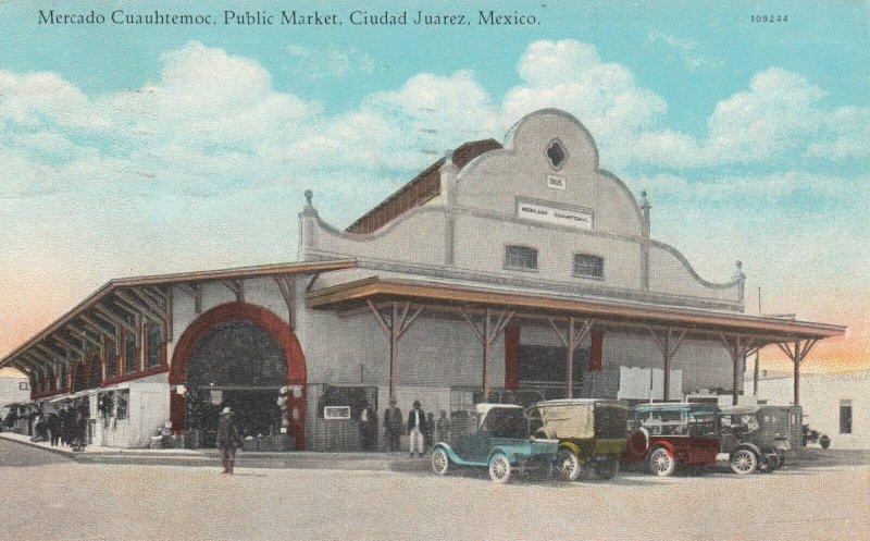 CIUDAD JUAREZ ,  Mexico , PU-1928 ; Mercado Cuauhtemoc, Public Market # 2