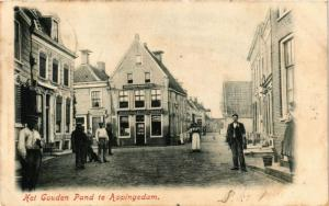 CPA APPINGEDAM Gouden pand NETHERLANDS (706303)
