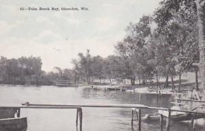 Wisconsin Okauchee Scene At Palm Beach Bay 1920