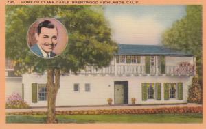 BRENTWOOD HIGHLANDS , California , 30-40s ; Clark Gable Home