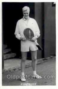 J. Lundquist Tennis Unused