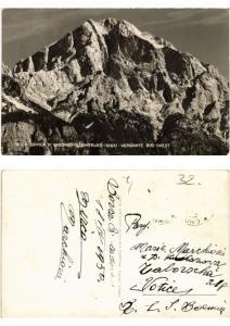 CPA Borca di Cadore L'antelao Versante Sud-Ovest. ITALY (507064)