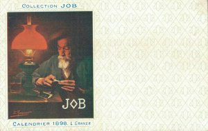 Collection Job - Calendrier 1898 L.Graner - Smoking Advertisement 04.19