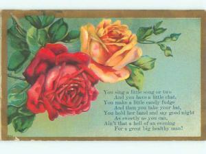Divided-Back BEAUTIFUL FLOWERS SCENE Great Postcard AA2206