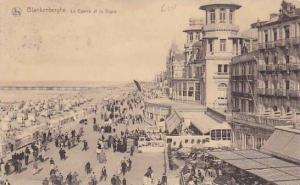 Belgium Blankenberge Le Casino et la Digue 1921