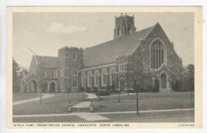 Myers Park Presbyterian Church, Charlotte, North Carolina, 20-40s