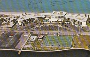 Tennis Courts At La PLaya Motor Inn Vanderbilt Beach Naples Florida