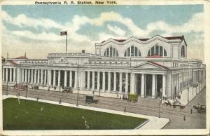 New York, N.Y., Pennsylvania Railroad Station (1910s)