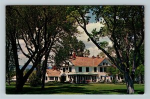 Sheridan WY- Wyoming Bradford Brinton Mem Western Art Sculptures Chrome Postcard