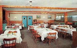 Lancaster Pennsylvania~Willows Hotel~Restaurant Dining Room~Lincoln Highway~'50s