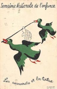 Semaine Nationale de l'enfance, Les canards, Ducks and fortune 1938