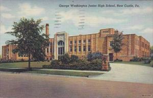 George Washington Junior High School New Castle Pennylvania 1948