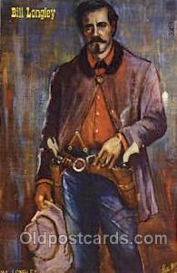 Jesse James Western Cowboy, Cowgirl Postcard Postcards  Jesse James