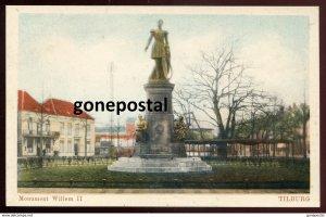 dc873 - NETHERLANDS Tilburg 1930s Monument Willem II