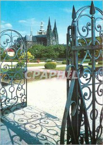 Postcard Modern Praga St. Vitus Cathedral The view of the Manege