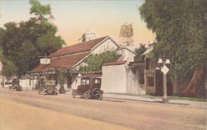 Ramona's Home San Gabriel California Handcolored Albertype