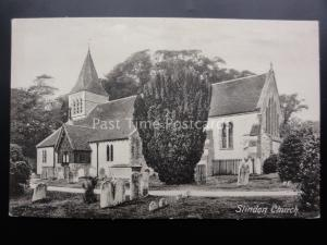 West Sussex SLINDON CHURCH St Marys - Old Postcard by Frith 42573