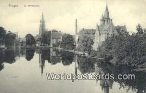 Bruges, Belgium, België, la Belgique, Belgien Le Minnewater  Le Minnewater