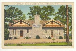 Panorama Courts On U.S. Route 23, 1 Mile South Of Franklin, North Carolina, 1...