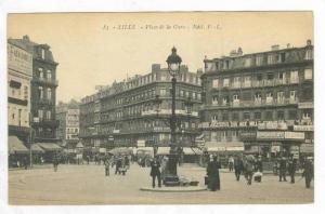 Place De La Gare, Lille (Nord), France, 1900-1910s