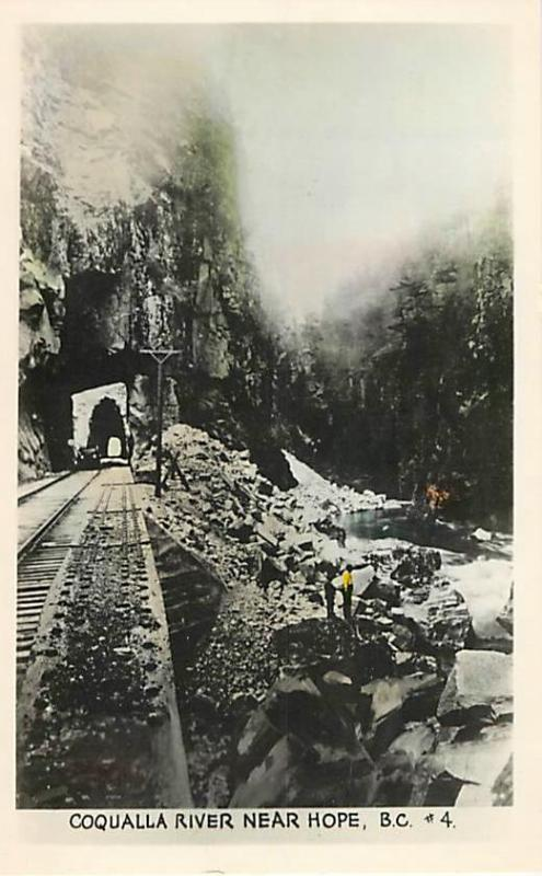 RPPC of the Othello Tunnels Coqualla River Canadian Pacific Railroad Hope BC