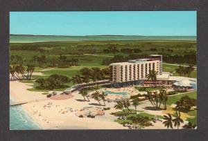 Caribbean Hotel Casino Aruba Netherlands Antille Postcard Gambling Nederlandse