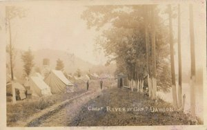 RP: CAMP DAWSON , West Virginia , 1900-10s ; National Guard