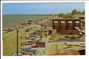 Cars, Station-wagons on, Wasaga Beach, Ontario,