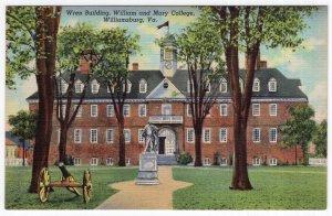 Williamsburg, Va, Wren Building, William and mary College
