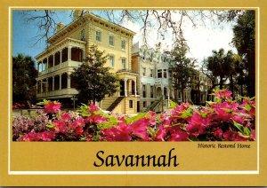 Georgia Savannah Monterey Square Historic Restored Home