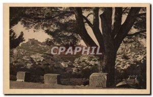 Old Postcard La Douce France Provence Landscape And Stones View d & # 39ensem...