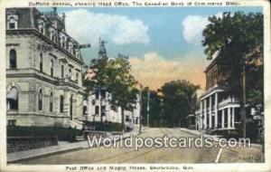Sherbrooke, Quebec Canada, du Canada Dufferin Avenue, Head Office Canadian Ba...