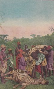 Teddy Roosevelt in Africa , Hunting Zebra , 00-10s