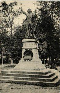 CPA LONS le SAUNIER Statue de Rouget de l'Isle (447169)