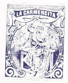 La Carmencita Cigarette Package Label - Mexico