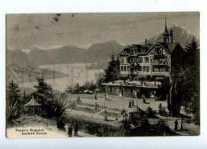 131661 Switzerland LUCERNE Pension Anglaise OLD RPPC to RUSSIA